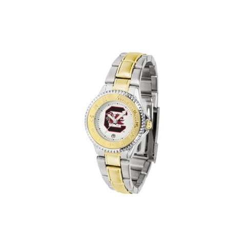 "South Carolina Gamecocks NCAA ""Competitor"" Women's watch (2-Tone Stainless Steel Band)"