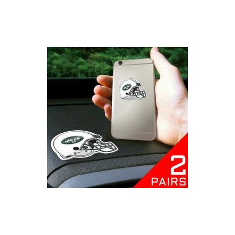 "New York Jets NFL ""Get a Grip"" Cell Phone Grip Accessory (2 Piece Set)"