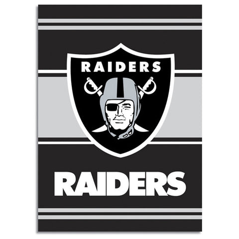 Oakland Raiders NFL 2 Sided Banner 28 x 40