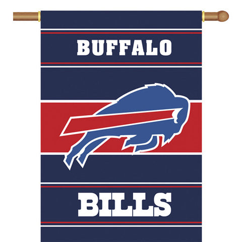 Buffalo Bills NFL 2 Sided Banner 28 x 40