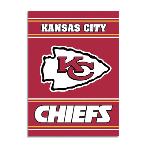 Kansas City Chiefs NFL 2 Sided Banner 28 x 40