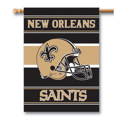 New Orleans Saints NFL 2 Sided Banner 28 x 40