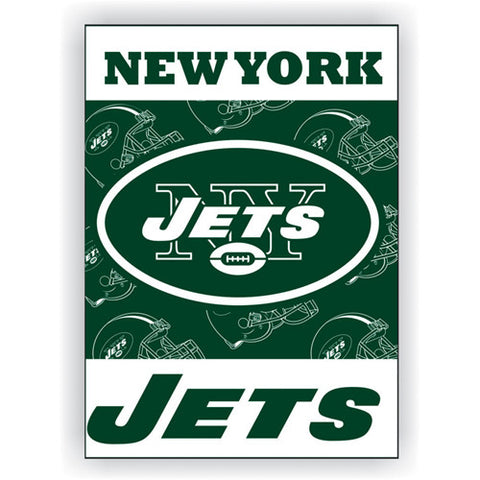 New York Jets NFL 2 Sided Banner 28 x 40