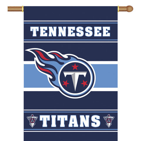 Tennessee Titans NFL 2 Sided Banner 28 x 40