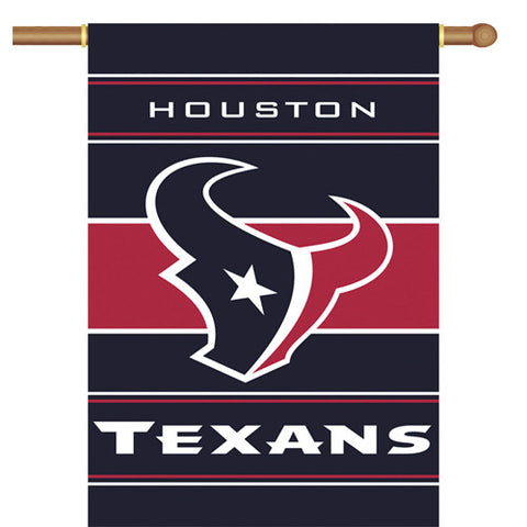Houston Texans NFL 2 Sided Banner 28 x 40