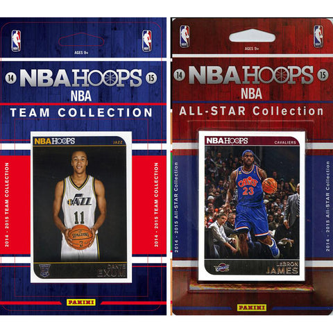 NBA Utah Jazz Licensed 2014 15 Hoops Team Set Plus All Star