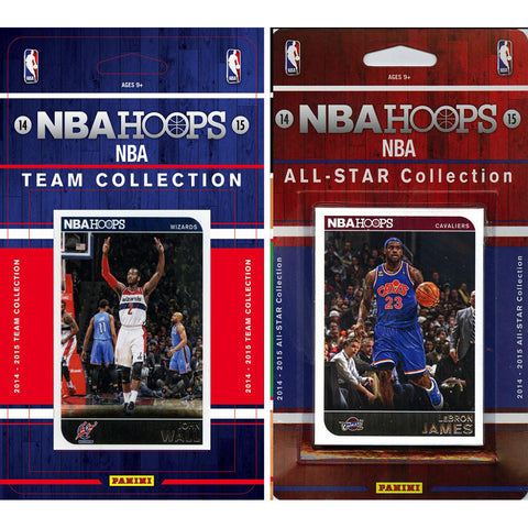 NBA Washington Wizards Licensed 2014 15 Hoops Team Set Plus All Star