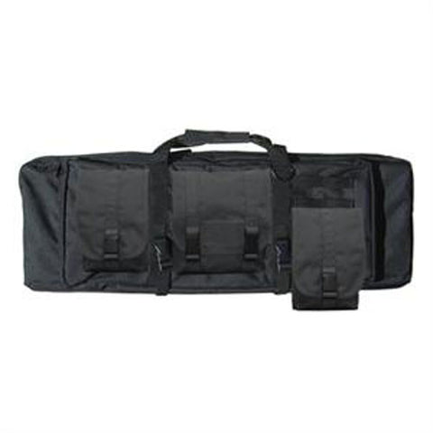 42in Modular Tactical Rifle Case 3 detachable pouches Color: Black