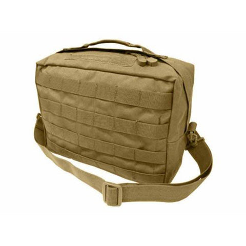 Utility Shoulder Bag Color Tan