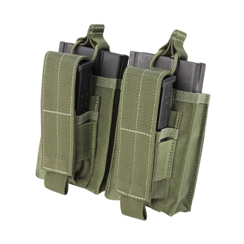 Double M14 Kangaroo Mag Pouch Color: OD Green