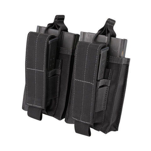 Double M14 Kangaroo Mag Pouch Color: Black