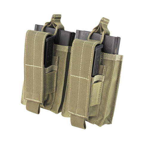 Double M14 Kangaroo Mag Pouch Color: Tan