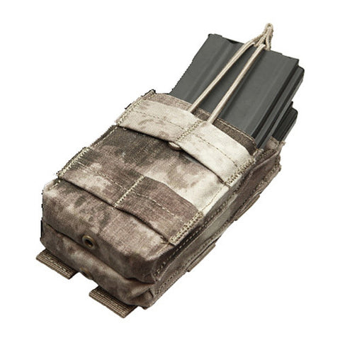 Single Stacker M4 Magazine Pouch Hold 2 Mags Color: A TACS