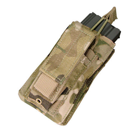 Kangaroo Magazine Pouch holds 1 M4/M16 Mag, Pistol Mag Color: Multicam