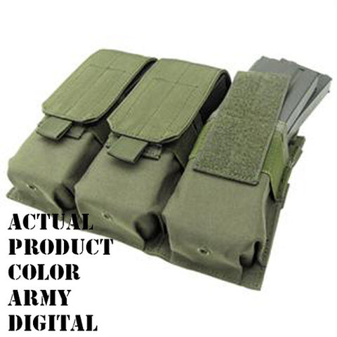 Triple M4 Mag Pouch Color: Army Digital