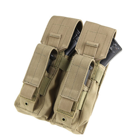 Double AK Kangaroo Pouch Color Tan