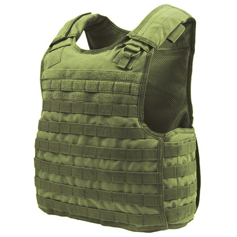 Quick Release Plate Carrier Color: OD Green