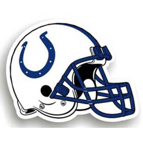 Indianapolis Colts NFL 12 Car Magnet