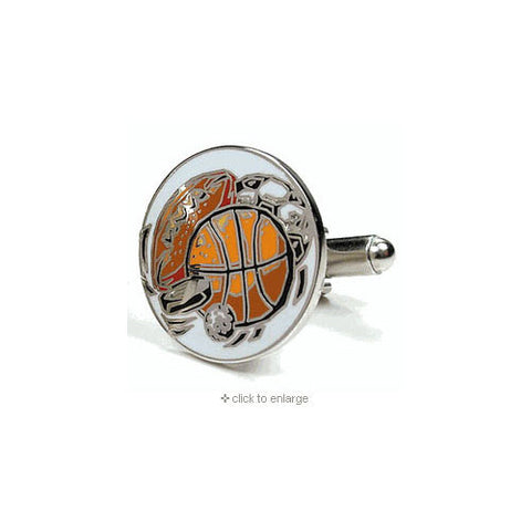 Sports Nuts Themed Executive Cufflinks w/Jewelry Box