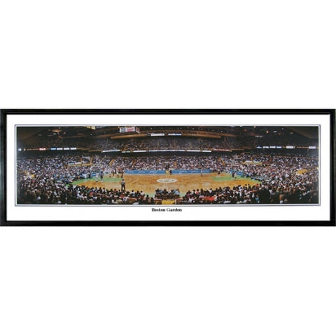 Boston Celtics Garden 13.5 x39 Standard Black Frame