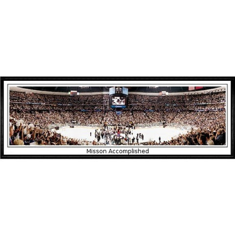 Colorado Avalanche Mission Accomplished 13.5 x39 Standard Black Frame