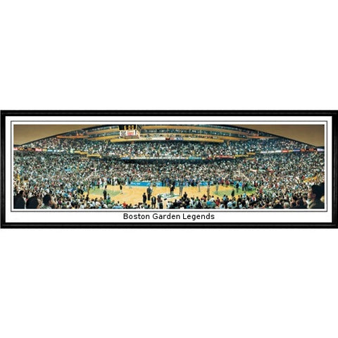 Boston Celtics Garden Legends 13.5 x39 Standard Black Frame