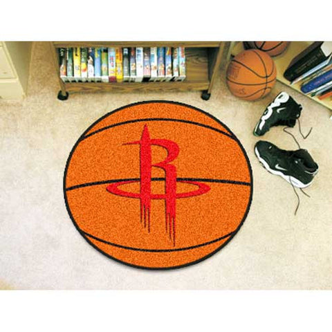 Houston Rockets NBA Basketball Mat 29 diameter