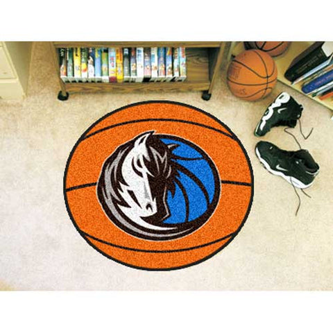 Dallas Mavericks NBA Basketball Mat 29 diameter