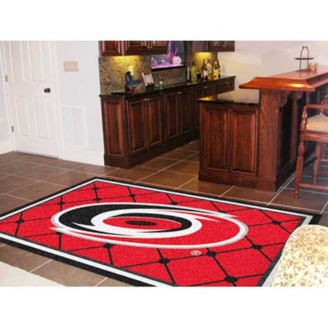Carolina Hurricanes NHL 5x8 Rug 60x92
