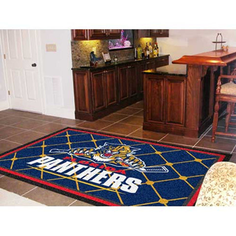 Florida Panthers NHL 5x8 Rug 60x92