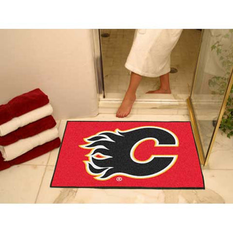 Calgary Flames NHL All Star Mat 34x45