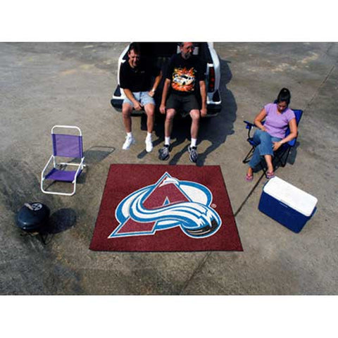 Colorado Avalanche NHL 5x6 Tailgater Mat 60x72