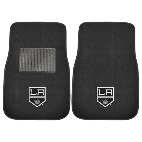 Los Angeles Kings NHL 2 pc Embroidered Car Mat Set