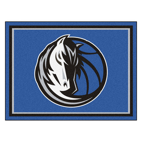 Dallas Mavericks NBA 8ft x10ft Area Rug