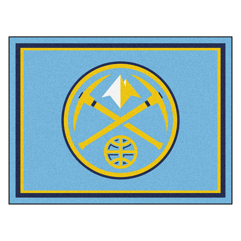 Denver Nuggets NBA 8ft x10ft Area Rug