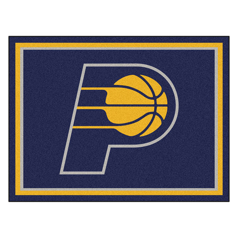 Indiana Pacers NBA 8ft x10ft Area Rug