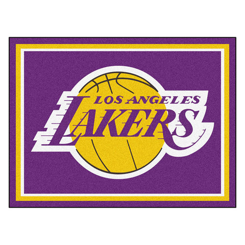 Los Angeles Lakers NBA 8ft x10ft Area Rug