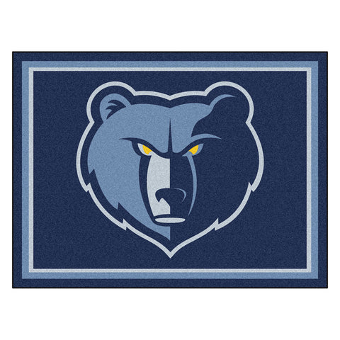 Memphis Grizzlies NBA 8ft x10ft Area Rug