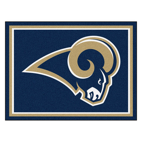 Los Angeles Rams NFL 8ft x10ft Area Rug