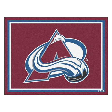 Colorado Avalanche NHL 8ft x10ft Area Rug