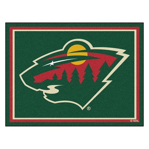 Minnesota Wild NHL 8ft x10ft Area Rug