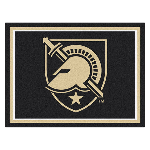 Army Black Knights NCAA 8ft x10ft Area Rug