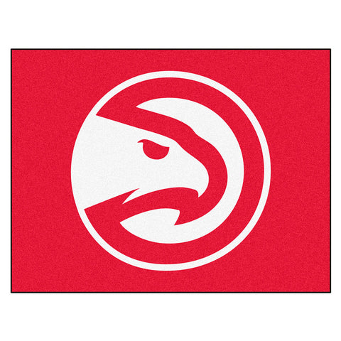Atlanta Hawks NBA All Star Floor Mat 34in x 45in