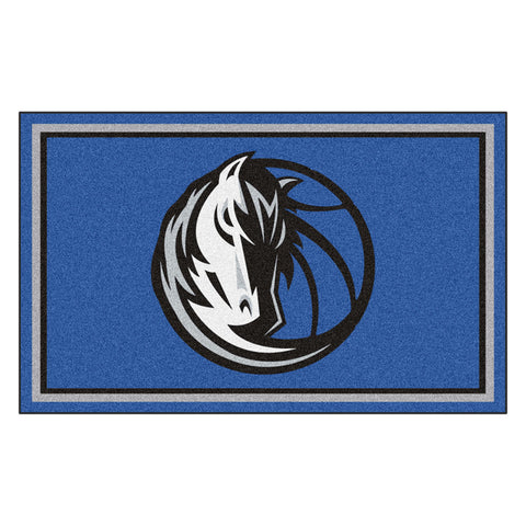 Dallas Mavericks NBA 4x6 Rug 46x72