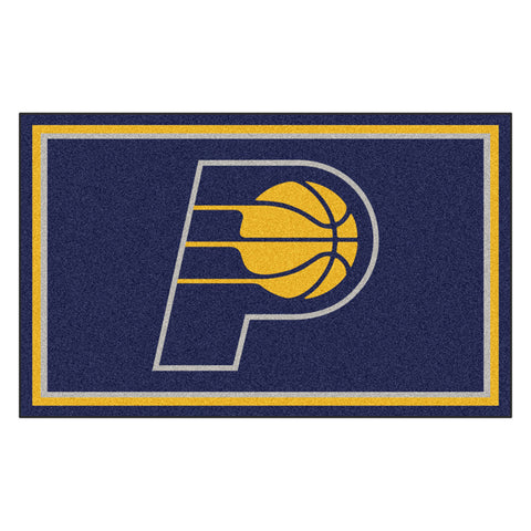 Indiana Pacers NBA 4x6 Rug 46x72