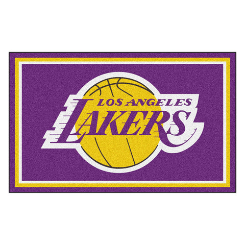 Los Angeles Lakers NBA 4x6 Rug 46x72