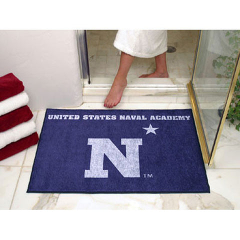 Navy Midshipmen NCAA All Star Floor Mat 34 x45