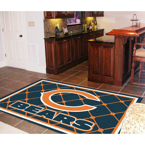 Chicago Bears NFL Floor Rug 60x96