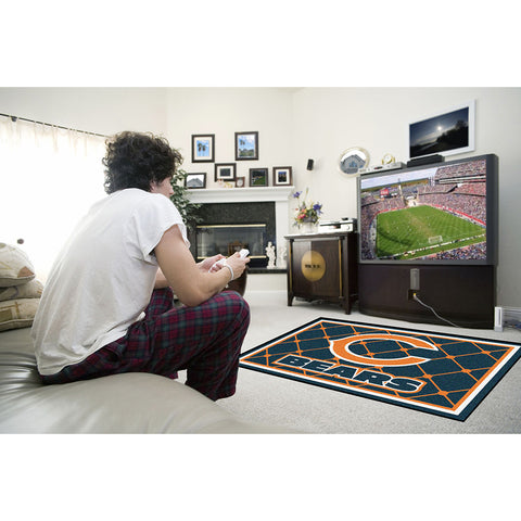 Chicago Bears NFL Floor Rug 4x6
