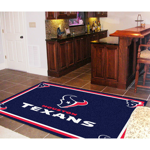 Houston Texans NFL Floor Rug 5x8